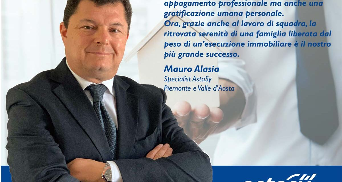 Mauro Alasia è Specialist Astasy in Piemonte e Valle D'Aosta